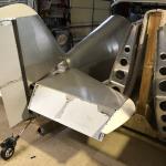 Bigger Tailwheel installed